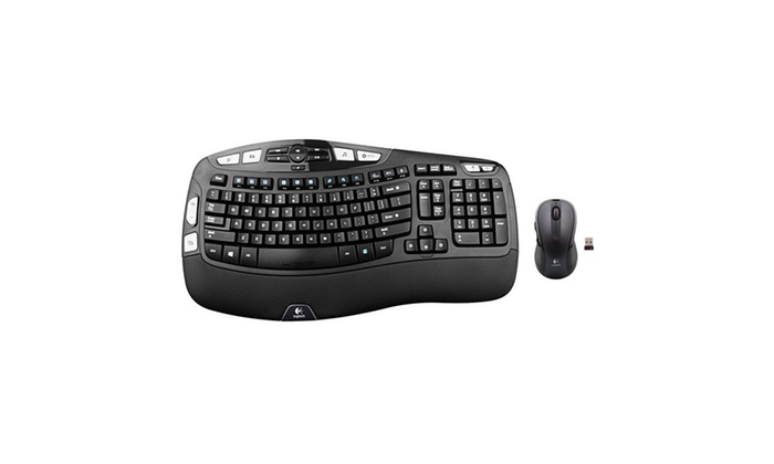009f94eb20a Up To 9% Off on Logitech Wireless Wave Combo ... | Groupon Goods