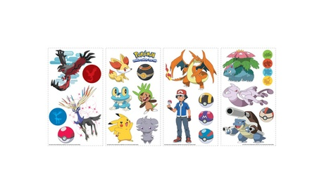 Roommates XY Pokemon Wall Decals 370f22f4-93e9-495e-be28-d48972415bff