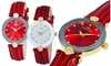 Groupon Goods: Oniss Womens Facetted Crystal Watch