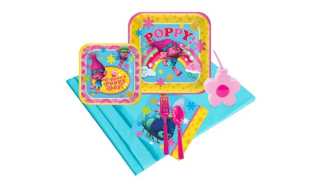 Trolls 16 Guest Party Pack Plus Molded Cups 9bf175eb-9b0f-4341-91f7-90d85fa9e0cd