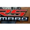 "Camaro RS Full Size Wall Emblem Art 34"" by 9"" 5th Gen"