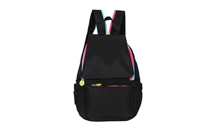 AMA(TM) Girls Nylon Leisure Backpack Rucksack School Satchel Sports Shoulder Bag