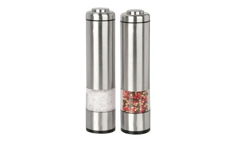 Kalorik Salt and Pepper Grinder Electric Mill Set 1d090d91-8627-44bc-99a4-b51f8f5b1719