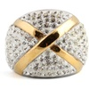 Stainless Steel Gold Color Unisex Ring