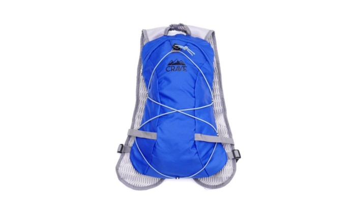 Backpack Crave Hydration 1.5L Water Bladder Cycling Running Pack-Green
