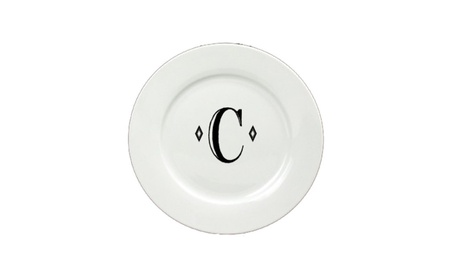 Carolines Treasures CJ1058-C-DPW Letter C Initial Dinner Plate photo