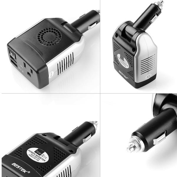 BESTEK 75W Power Inverter DC 12V to 110V AC Car Inverter Power Converter