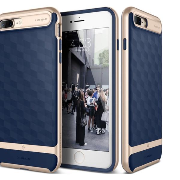 buy online 80f7a 65786 iPhone 7 plus case Caseology parallax series modern slim geometric