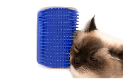 Relax & Massaging Cat Self Grooming Tool Hair Removal Brush Comb ab885188-05cd-4c03-9f68-313b3879bdbf