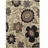 Monarch Rockport Ivory/ Beige Floral Area Rug