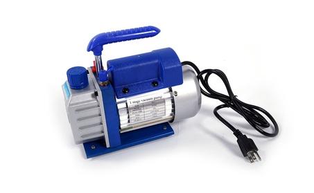 Vacuum Pump Single Stage HVAC 1/4HP Air Conditioning A/C Deep f4da441c-4684-43e9-ae08-6357c5412fba