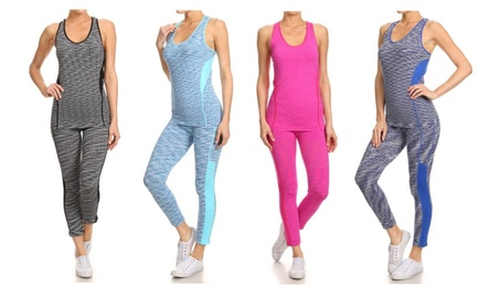 Womens Activewear Sets - Excercise / Running / Yoga - LuxClub Styles e90ac591-f58b-4d53-a50f-5a377924b45d