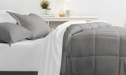 Merit Linens Premium Solid Bed in a Bag Sets (8-Piece)