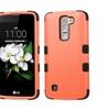 Insten Tuff Hard Hybrid Silicone Cover Case For Lg K7   Orange Black