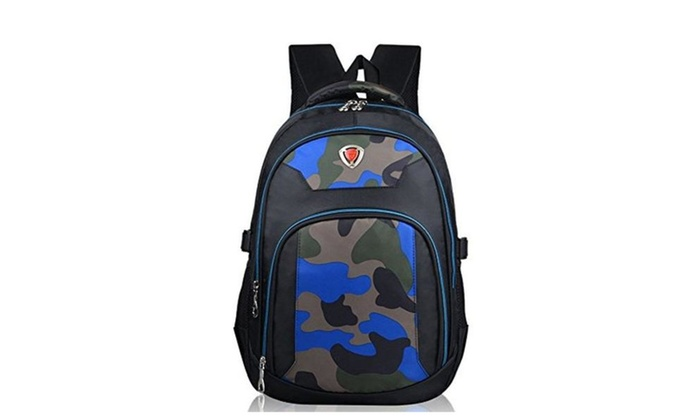 Casche Boys Cool Book Bags Kids Camo Backpack For School