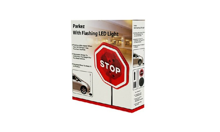 Flashing Light Parking Safety Sensor, Case of 12