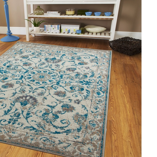 Large Area Rugs Traditional Blue Living Room Rug 8x10 Floral Hallway Runner  Rugs