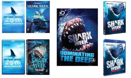 Shark Week Collection Sets Bluray or DVD 686da34e-3a60-45af-af64-844b6e1e3707