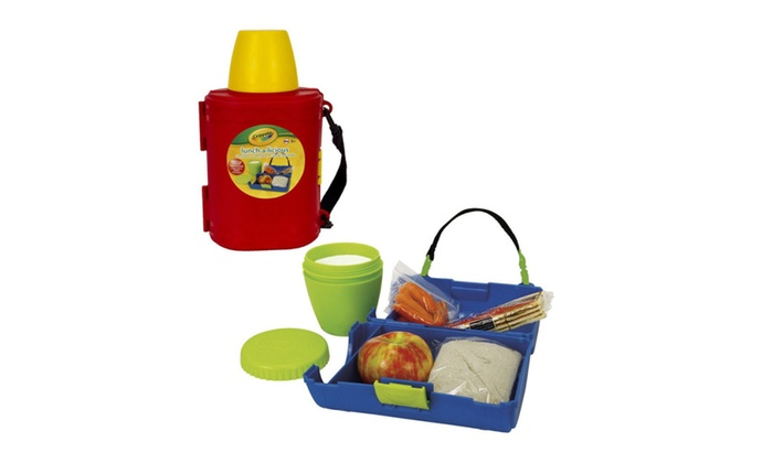 Crayola Lunch-a-Licious Lunch Box and Drink Cup Combo