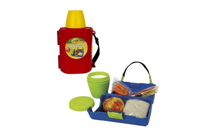 Crayola Lunch-a-Licious Lunch Box and Drink Cup Combo 2fbbd48f-6d9a-4c2c-a42b-f23f55176192