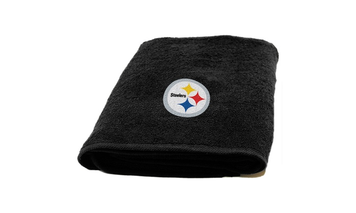NFL 929 Steelers Applique Beach Towel