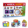 Magical Magnets Toys For Kids Stacking 40 Pc Educational Construction