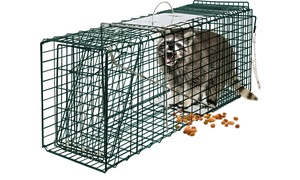 "32""x12""x12"" Steel Outdoor Live Animal Trap"