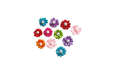 Pet Cat Puppy Dog Hair Bows Rubber Bands Resin Grooming Accessories 11c83615-2d0a-47cf-a9ce-c239ed75c524