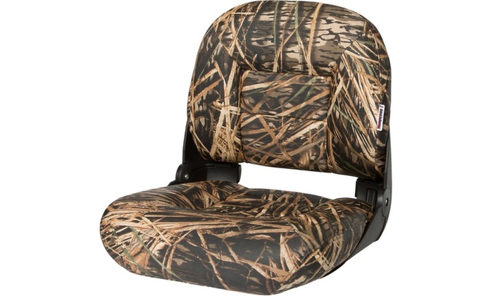 Tempress NaviStyle Low Back Boat Seat Mossy Oak Shadowgrass
