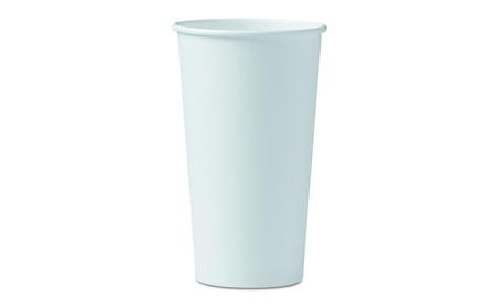 Solo Cup 420W Polycoated Hot Paper Cups, 20 oz. White 6e7e7705-17fc-46ac-af59-05e2d69192e4