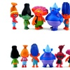 Trolls Dolls Action Figures Toys Popular Anime Cartoon PVC Toys