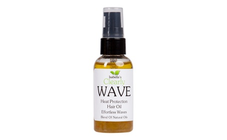 Clearly WAVE, Thermal Protection Hair Oil. 2 Oz. 5a826485-0177-49c1-a0bc-5b2a68bf33be