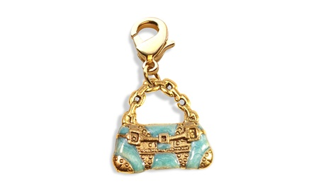 Retro Purse Charm Dangle in Gold (Goods Jewelry & Watches Fashion Jewelry Bracelets) photo