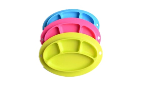 UNIQSTORE Silicone Plate for Children, Kids, Kitchen Dining Table 106c66f3-01d0-41cc-a390-7d3453fee631
