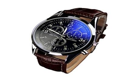 Blue Ray Quartz Analog Watch 64168d58-17c4-4d7b-b9bf-ff9f579b3585