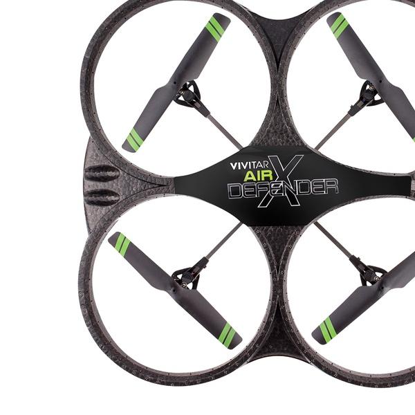 Vivitar DRC-330 Air Defender Quadcopter Camera Drone