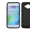 Insten Hard Dual Rubber Coated Silicone Case Diamond For Galaxy J3
