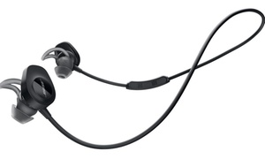 Bose SoundSport Wireless NFC Bluetooth In-Ear Headphones w/ Case