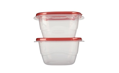 Rubbermaid 7F68RETCHL Take Alongs Square Containers - 2 Pack Pack Of 8 69f37486-b6f3-4a30-9061-bde87efd2cd6