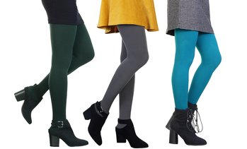 Angelina Fleece-Lined Tights (Single Pack)