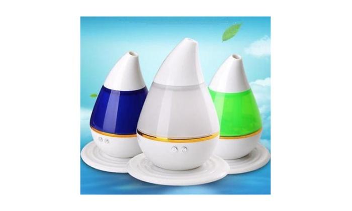 New 200 ml Ultrasonic Aroma Humidifier Air Diffuser Lonizer Atomizer