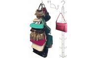 Purse Stax - Purse and Handbag Vertical Hanging Organizer (Boottique) photo
