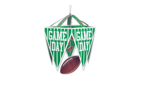"Beistle Game Day Pennant Chandelier 11 1/2"" X 17 1/2"" - 12 Pack (1/Pkg) 46e504d3-b5b3-4a71-bf65-eec9abf6dfe6"