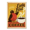 Anderson Design Group 'Early Bird Blend Coffee' Canvas Art