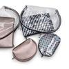 3 Piece Travel Cosmetic Bag Set Makeup Organizer