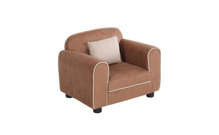 Kids Sofa Armrest Chair Children Toddler Living Room w Cushion f1bf88bb-0ecd-49b0-9e8d-31cc1d73230e