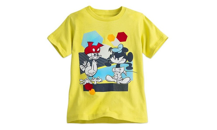 16c4cb9989 Disney Mickey Mouse and Donald Duck Summer Tee for Boys