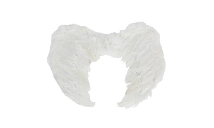 Christmas EXTRA LARGE White Feather Angel Wing Photo Prop adult Women Costume