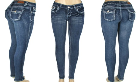 Colombian Design Skinny Jeans