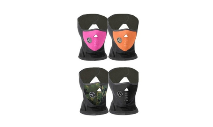 Winter Ski and Motorcycle Face Neck Mask Fleece Thermal Cap